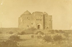 No. 6. Mosque on ridge of Delhi, held by the mutineers, our batteries were in the foreground appear now to be levelled.